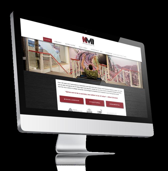 Keystone Metals, Inc. Web Design